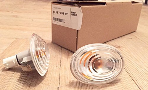 paire-clignotants-blancs-facelift-mini-cooper-r56-r55-r57-genuine-clear-side-lenses-2007-2014
