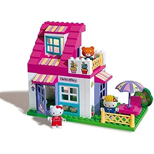 figuras kawaii Androni Giocattoli - Casa de muñecas Hello Kitty (8651-00HK)