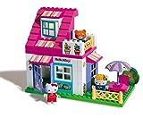 COSTRUZIONE Unico Hello Kitty-Piccola Casa 59pz 8651 - Compatibile con noti mattoncini da costruzione - Contiene: 3 personaggi, mattoncini da decorare e accessori - Numero totale di pezzi: 59 - Made in Italy