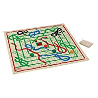 Jaques of London Garden Snakes & Ladders - Magnum Snakes & Ladders set