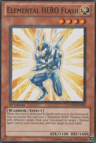 Yu-Gi-Oh! - Elemental HERO Flash (GENF-EN090) - Generation Force - 1st Edition - Common by Yu-Gi-Oh!
