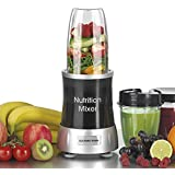GOURMETmaxx 04201 Nutrition Mixer Deluxe | 11-TEILE | 7 Funktionen |1000W POWER |satte 22.000 RPM |TO GO-Funktion