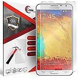 Conie 9H3188 9H Panzerfolie Kompatibel mit Samsung Galaxy Note 3 Neo, Panzerglas Glasfolie 9H Anti Öl Anti Fingerprint Schutzfolie für Galaxy Note 3 Neo Folie HD Clear