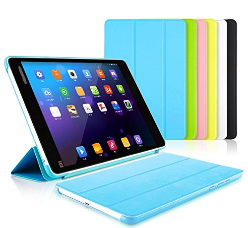 ProElite (TM) Smart Trifold Flip Case cover for Xiaomi Mi Pad (Blue) (Sleep/Wake)