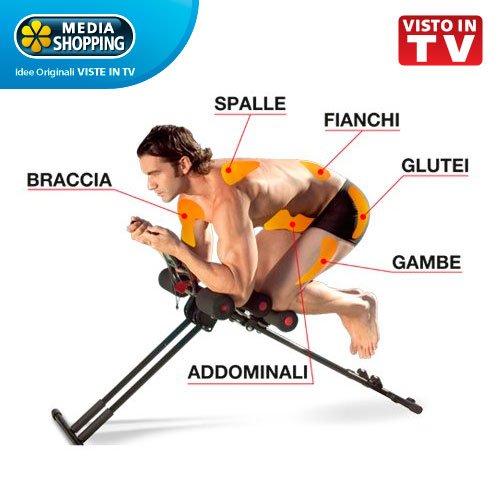 AB SLIDE attrezzo ORIGINALE Mediashopping allenamento...