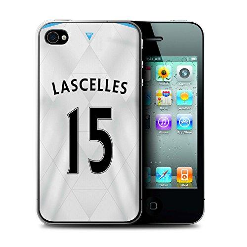 Offiziell Newcastle United FC Hülle / Case für Apple iPhone 4/4S / Pack 29pcs Muster / NUFC Trikot Away 15/16 Kollektion Lascelles