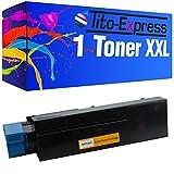 PlatinumSerie® 1 Toner-Patrone XXL kompatibel für OKI B411 Schwarz B411D B411DN B431D B431DN B431DN Plus MB461