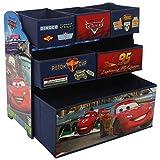 Disney Cars Kinderregal aus Holz mit Aufbewahrungsboxen