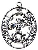 Siegel des Abraxas - Magische Rechte und Macht - Talismane der Tempelritter Amulette - Geschenk-box