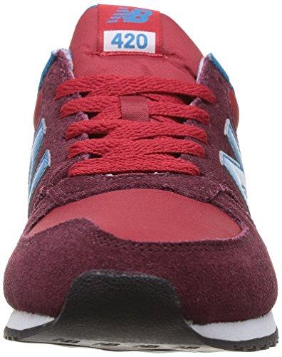 New Balance U420, Baskets mode mixte adulte Rouge (Srb Red)