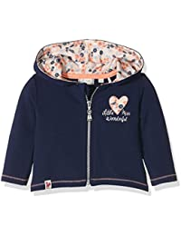 Sanetta 113733, Sweat-Shirt à Capuche Bébé Fille