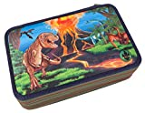 DINO WORLD 6691 - 3-fach Federtasche LED