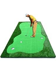 TT Práctica de golf de golf Putt práctica estera de práctica de golf Práctica de oficina mantita de 150 * 300 cm