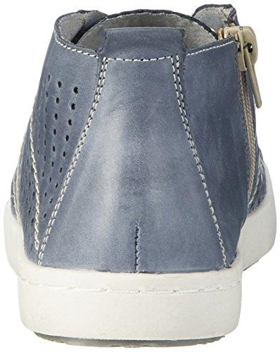 Remonte D5272, Sneakers Hautes Femme Bleu (Jeans/jeans/14)