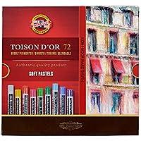 Pinturas pastel suaves KOH-I-NOOR TOISON D'OR (72 unidades)