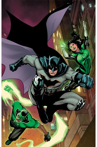 Justice League Récit complet 06 Les Green Lantern arrivent à Gotham !