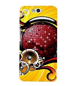 EPICCASE Music is Life Mobile Back Case Cover For InFocus M812 (Designer Case)