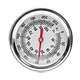 EsportsMJJ Kompost Boden Thermometer Garten Bimetal Edelstahl Messprobe