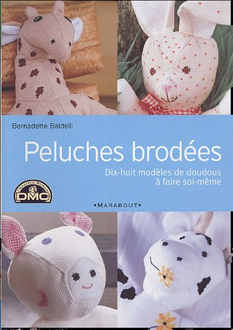 Peluches brodées