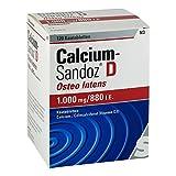 Calcium Sandoz D Osteo intens Kautabletten 120 stk