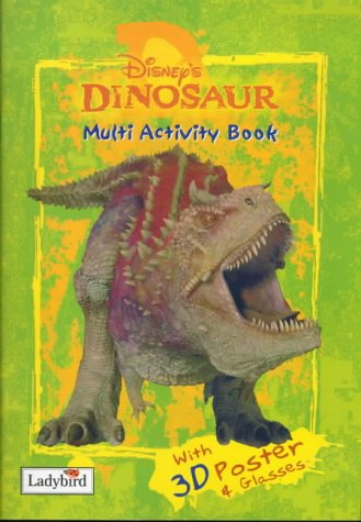 Disney's Dinosaur multi activity book.