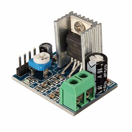 ROUHO 3Pcs Tda2030A 6-12V Ac/Dc Single Power Supply Audio Amplifier Board Module - 6v Ac-receiver