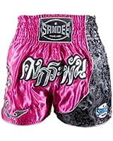 Sandee Unbreakable Thai Shorts - Pink Silver