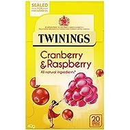 Twinings Cranberry Raspberry Elderflower, 20 Tea Bags