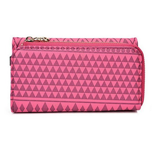 Kroo Pochette/étui style tribal urbain pour Allview C6 Quad 4 G Multicolore - White and Orange Multicolore - Rose