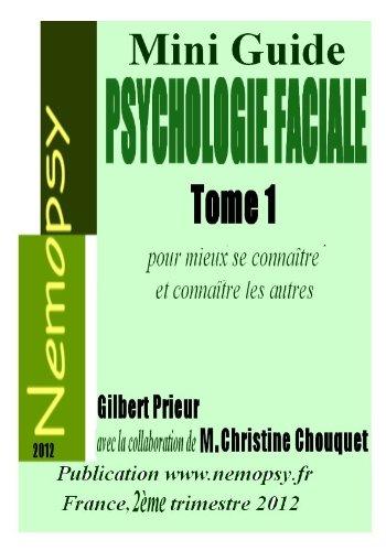 Psychologie Faciale Mini Guide par Gilbert Prieur