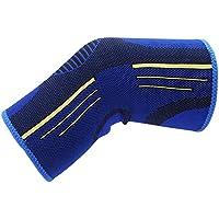 Wenquan,Baloncesto Correr Tejer Deporte Rodillera(Color:Azul,Size:L)