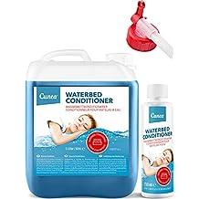 Cunea Acondicionador para Cama de Agua, Incluye Boquilla y Botella para acondicionador, bidón de