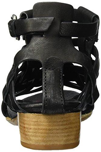 A.S.98 Tofy, Scarpe con Cinturino Donna Nero (Nero)