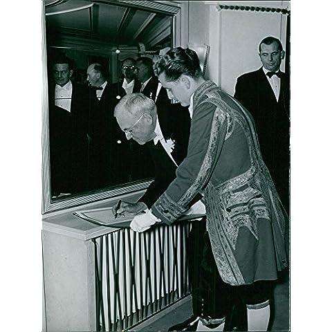 Vintage Foto Di American Politician John Foster
