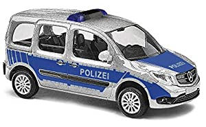 Busch 50658-Mercedes Citan Kombi Policía, Vehículo