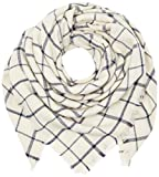 PIECES Damen Schal PCLUKKA Square Scarf, Mehrfarbig Whitecap Gray, One Size