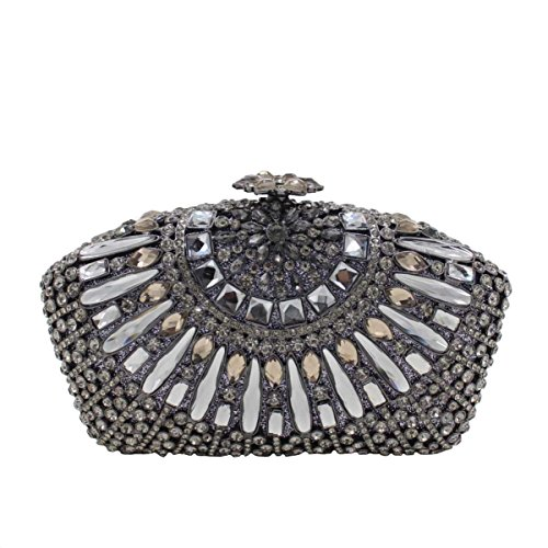 Damen-Luxus-Diamanten Abendtasche Diamant-Handtasche A