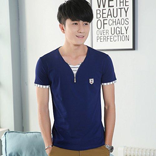 MTTROLI Herren T-Shirt Blau