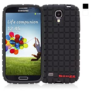 Snugg® Galaxy S4 Case - Silicone Case with Lifetime Guarantee (Black) for Samsung Galaxy S4