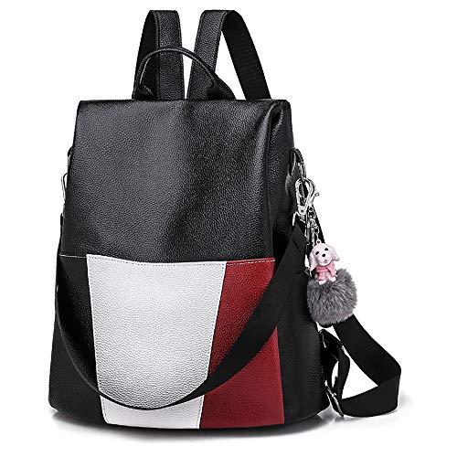 YA-Uzeun Damen Messenger Bags, Frauen Rucksack, Gezeiten Wild Große Kapazität, Anti-Diebstahl Reiserucksack - Körper Zuckerguss
