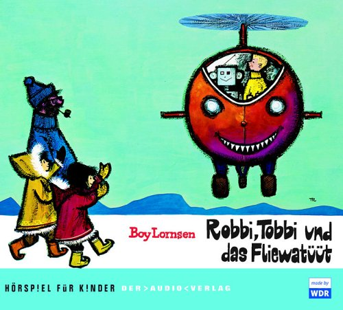 Robbi, Tobbi und das Fliewatüüt, 2 Audio-CDs