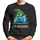 Free Mosasaurus Jurassic World Willy Men's Sweatshirt