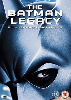 The Batman Legacy (Batman/Batman Returns/Batman Forever/Batman and Robin) [DVD] (B0009NS9HO) | Amazon price tracker / tracking, Amazon price history charts, Amazon price watches, Amazon price drop alerts