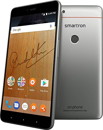 Smartron SRT phone (Finger Print Sensor 4GB RAM Model with 5.5-inch 1080p display, Octa-Core, 4GB RAM (Reliance Jio 4G Sim Support) 64 GB Internal Memory and 13 Mpix /5 Mpix Hd Smartphone