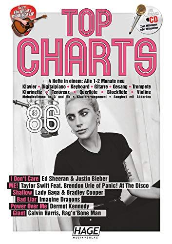 Top Charts 86 (mit CD): Die aktuellsten Hits der erfolgreichsten Stars und das Beste aus den Charts!
