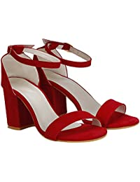caf853c210 Red Women's Fashion Sandals: Buy Red Women's Fashion Sandals online ...