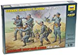 Zvezda 500788078 - 1:72 WWII Figuren-Set Deutsche Infanterie
