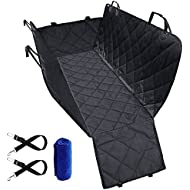 Dog Car Seat Covers,Tegollus Heavy Duty & Waterproof, Machine Washable Dog Seat Cover Dog Seat Cover for Cars, Trucks, and Suv- Dog Travel Hammock,Anti-Slip Design Easy Install and Clean Pet Seat Cover for Car Back Seat Car Protector