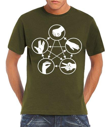 touchlines-herren-t-shirt-big-bang-theory-stein-schere-papier-echse-spock-khaki-m-b1815-khaki-m