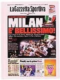 Fiori Paolo Gazzetta dello Sport Set per la Scuola, Rosa/Rosso/Nero, 17 cm